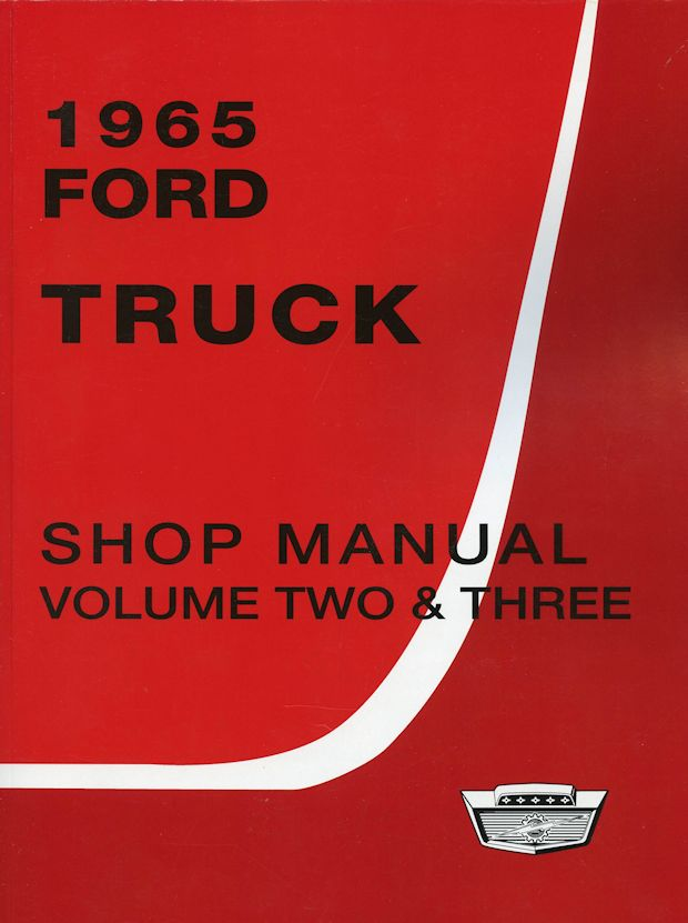 1965 Ford Truck Shop Manual (3 Vol Set)