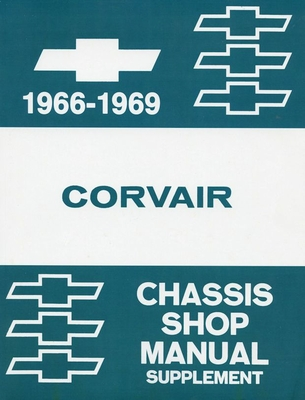 1966-1969 Chevrolet Corvair Chassis Shop Manual Supplement