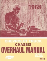 1968 Chevrolet Truck (Series 10-60) Chassis Overhaul Manual