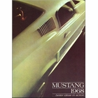 1968 Ford Mustang Sales Brochure