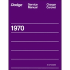 1970 Dodge Charger, Coronet Service Manual