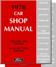 1970 Ford Car Shop Manual (5 Vol Set)