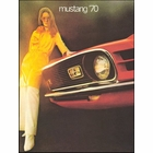 1970 Ford Mustang Sales Brochure