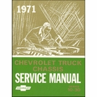 1971 Chevrolet Truck Chassis Service Manual