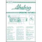 1971 Mustang Operating Features