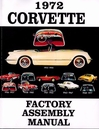 1972 Chevy Corvette Factory Assembly Manual