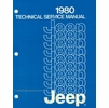 1980 Jeep Technical Service Manual