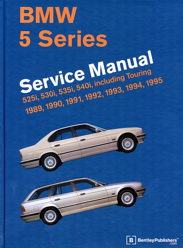 1989-1995 BMW 5 Series (E34) Service Manual 525i, 530i, 535i, 540i