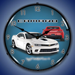 2014 SS Camaro Summit White Wall Clock, Lighted