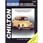 Air-Cooled VW Beetle, Karmann Ghia, Bus Repair Manual 1949-1969