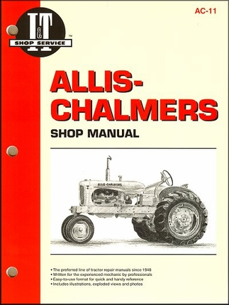 ac wd45 wiring diagram ac image wiring diagram allis chalmers tractor repair manual models b c ca g rc on ac wd45 wiring diagram