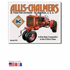 """Allis-Chalmers Tractor Division - Milwaukee, USA"" Tin Sign"