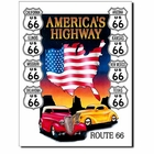 """America's Highway - Route 66"" Tin Sign"
