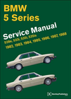 BMW 528e, 533i, 535i, 535is (E28 5 Series) Repair Manual 1982-1988