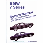 1988-1994 BMW 7 Series (E32) Repair Manual 735i, 735iL, 740i, 740iL, 750iL