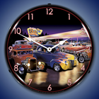 Bruce Kaiser Art Automotive Wall Clocks, Lighted