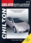 Buick LaCrosse / Allure Repair Manual: 2005-2013