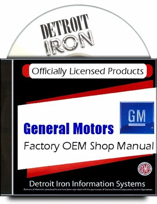 Cadillac Factory Service Manuals 1935-1972 on CD-ROM