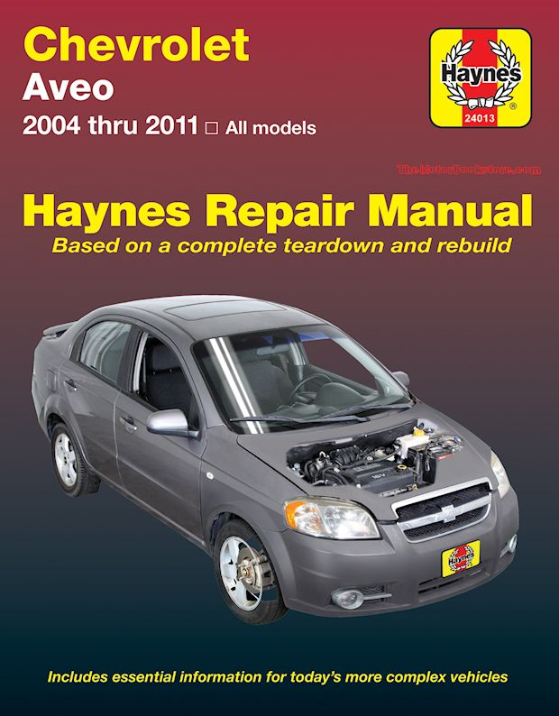 2011 chevy aveo repair manual pdf