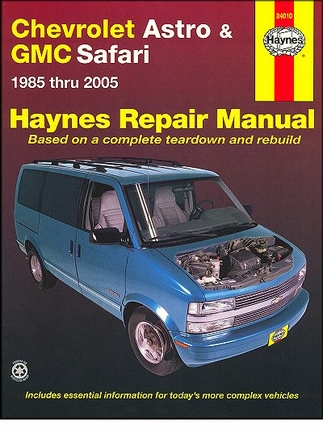 Chevy Astro, GMC Safari Repair Manual 1985-2005