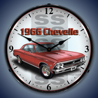 Chevy Chevelle Wall Clocks, Lighted: 1965-1971