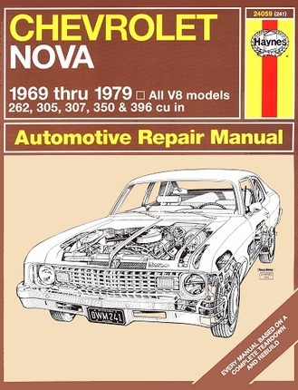 Chevy Nova Repair Manual 1969-1979