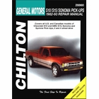 Chevy S10, GMC S15, Sonoma, Syclone Repair Manual 1982-1993