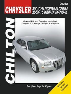 Chrysler 300, Dodge Charger, Magnum Repair Manual 2005-2010