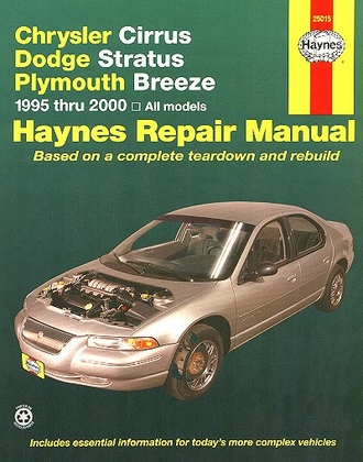 Chrysler Cirrus, Dodge Stratus, Plymouth Breeze Repair Manual 1995-2000