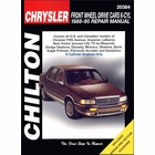 Chrysler, Dodge, Eagle, Plymouth Repair Manual FWD 6-Cylinder Cars 1988-1995