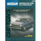 Datsun 210, B210, 1200 Repair Manual 1973-1981