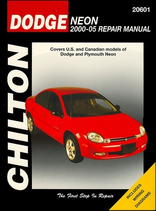 Dodge, Plymouth Neon Repair Manual 2000-2005