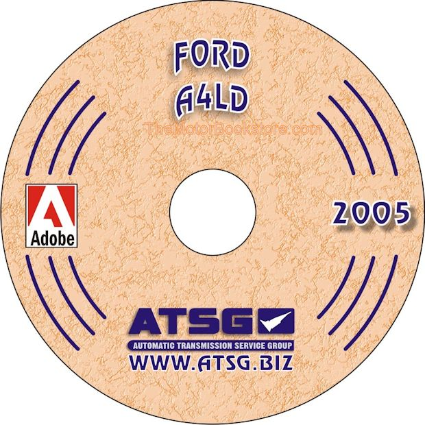 Ford A4LD Transmission Rebuild Manual on CD 1985-1995
