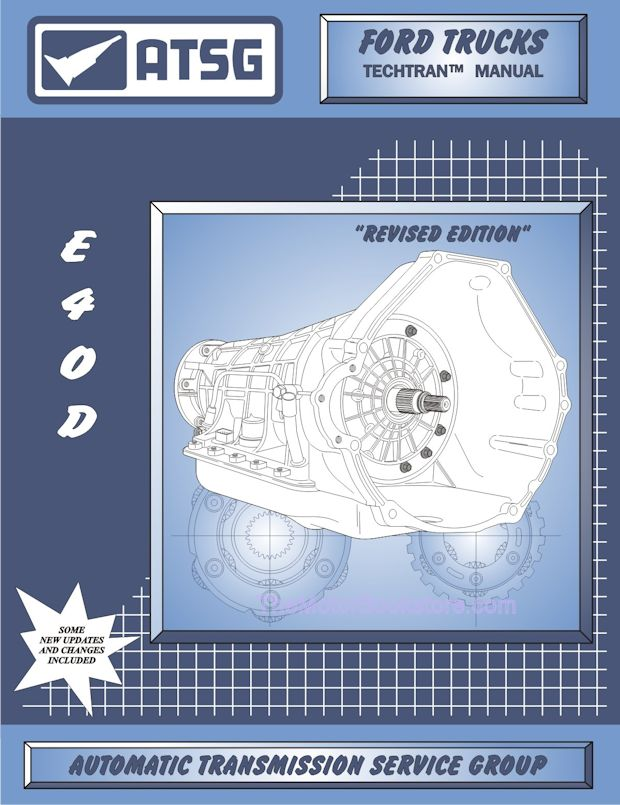 Ford E4OD Transmission Rebuild Manual 1989-1998