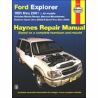 Ford Explorer, Mazda Navajo, Mercury Mountaineer Repair Manual 1991-2001