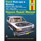 Ford F-100, F-150, F-250, F-350 Pickup Trucks, Bronco Repair Manual 1980-1997