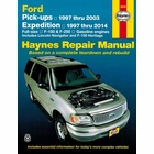 Ford F-150, F-150 Heritage, F-250, Expedition, Lincoln Navigator 2WD, 4WD Repair Manual 1997-2014