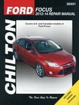 Ford Focus Repair Manual: 2012-2014 - Chilton