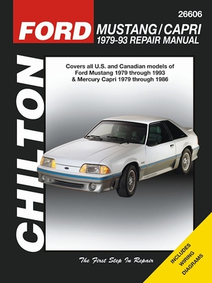 Ford Mustang (1979-1993) / Mercury Capri (1979-1986) Repair Manual