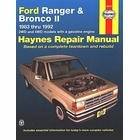 Ford Ranger, Bronco II 2WD, 4WD Repair Manual 1983-1992