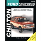 Ford Ranger, Bronco II Repair Manual 1983-1990