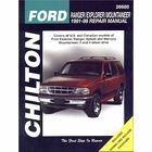 Ford Ranger, Explorer, Mountaineer Repair Manual 1991-1999