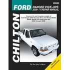 Ford Ranger, Mazda B2300, B2500, B3000, B4000 Pickup Repair Manual 2000-2011