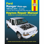 Ford Ranger, Mazda Pick-up Trucks Repair Manual 1993-2011