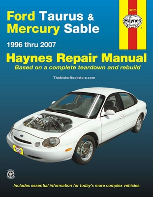 Ford taurus mercury sable repair manual 1996 2007 haynes 36075