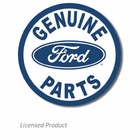 """Genuine Ford Parts"" Tin Sign"
