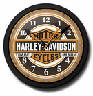 Harley-Davidson Bar and Shield Licensed Neon Clock