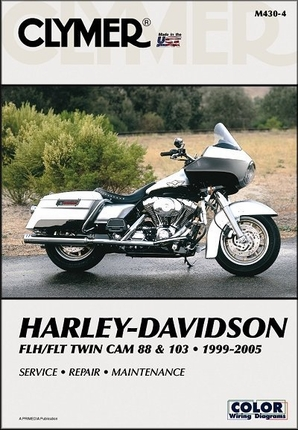 Harley-Davidson FLH, FLT Twin Cam 88 & 103 Repair Manual 1999-2005