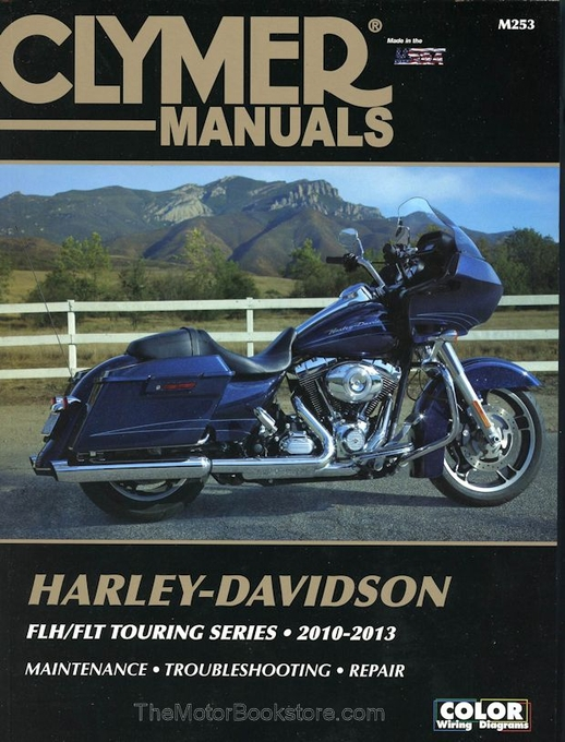 Harley FLH / FLT Touring Series Repair Manual: 2010-2013