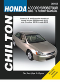 Honda Accord and Crosstour Repair Manual 2003-2012
